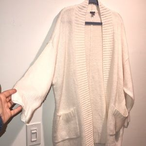 MWOT Aerie white cardigan